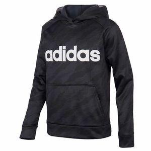 Adidas Youth Tech Fleece Lined Hoodie Black